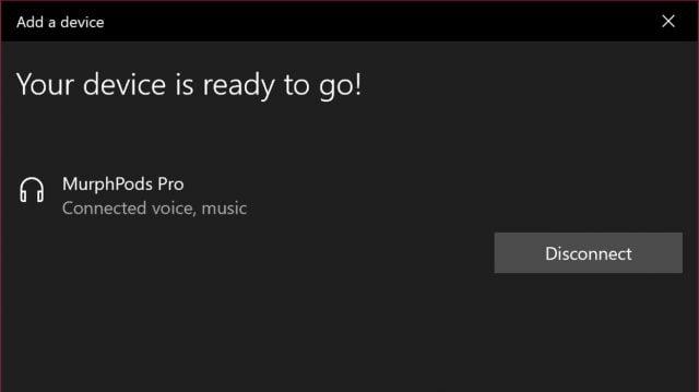 AirPods Windows 10 bağlantı rehberi