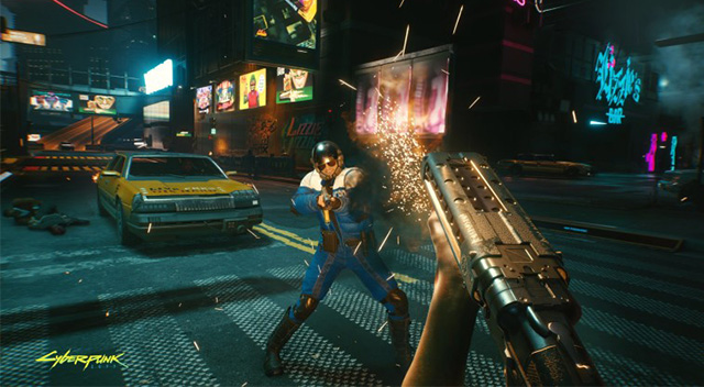 Cyberpunk 2077 Xbox Series X oynanış videosu