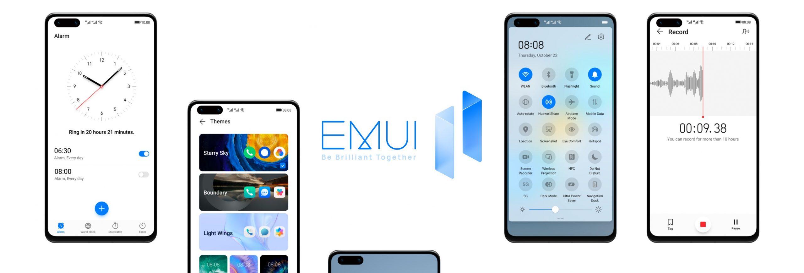 Huawei EMUI 11 güncelleme takvimi