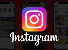 Instagram ana ekran tasarımı