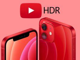 YouTube iOS HDR