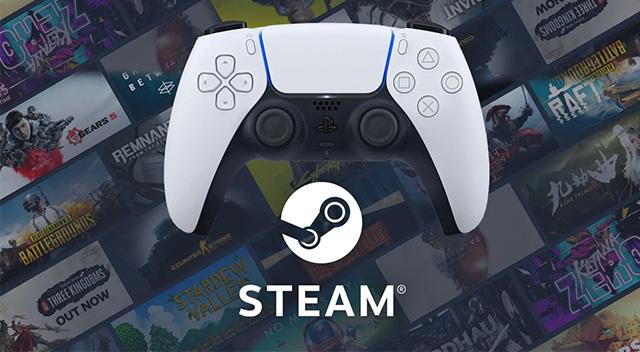 Steam PS5 DualSense Kontrolcüsü desteği