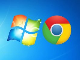 Windows 7 Chrome desteği