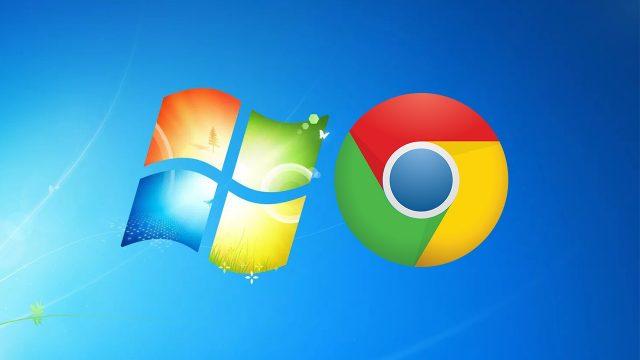 Windows 7 Chrome desteği