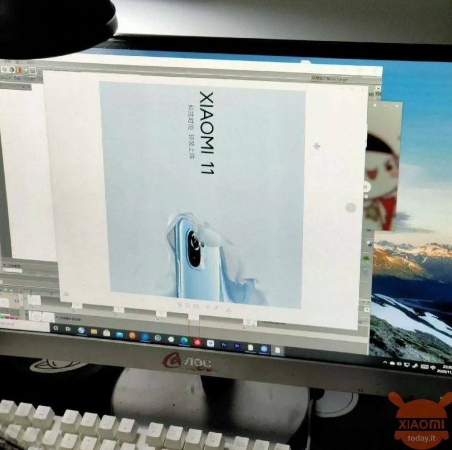 Xiaomi Mi 11 tasarımı