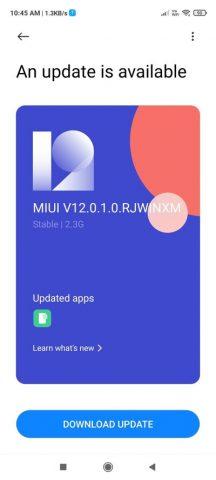 Xiaomi Redmi Note 9 Pro Android 11 Güncellemesi