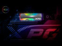 XPG SPECTRIX S20G M.2 NVME RGB SSD