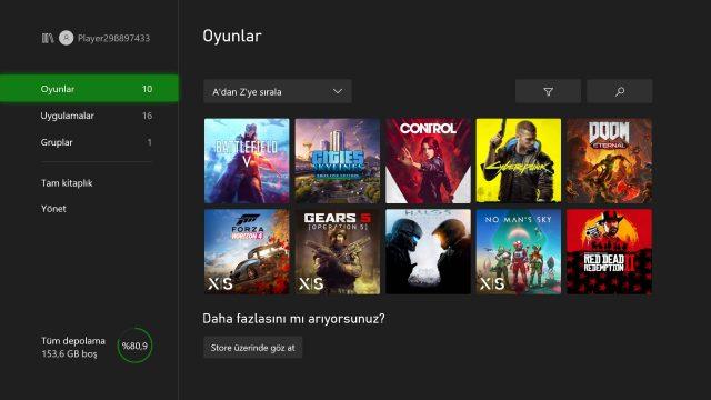 Xbox Series X Uyumlu Oyunlar
