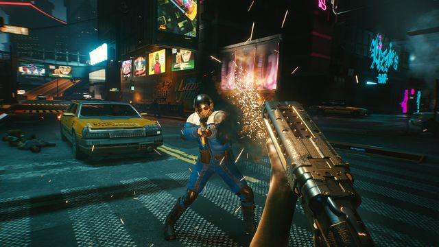 Cyberpunk 2077 Replace 1.04 Launched