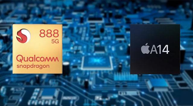 Snapdragon 888 A14 Bionic işlemci