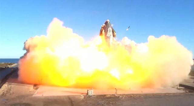SpaceX Starship SN8 roketi