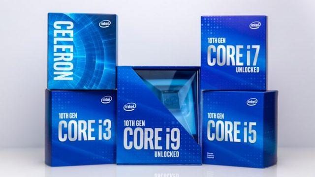 11. nesil Intel Core Rocket Lake işlemciler