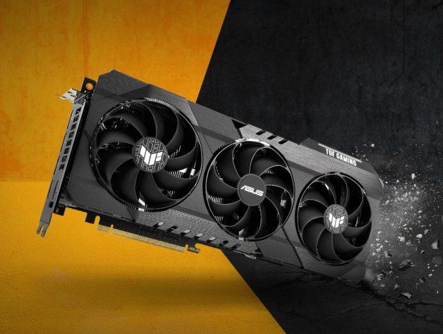 12 GB VRAM'li Asus GeForce RTX 3060 TUF Gaming