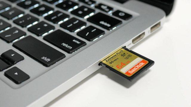 2021 MacBook Pro SD Kart