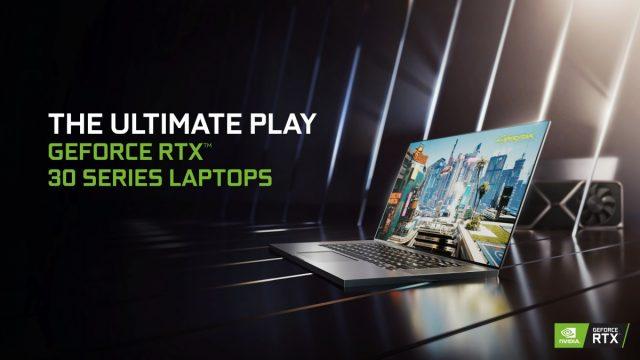 GeForce RTX Ampere Dizüstü Bilgisayar