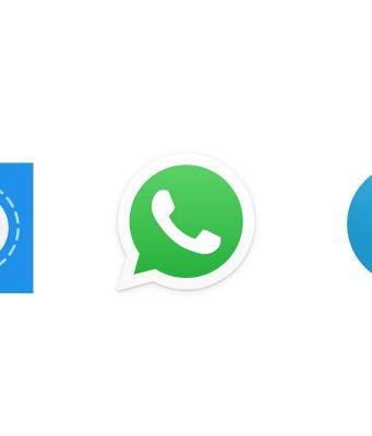 telegram, signal, whatsapp