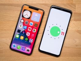 Android 11 ve iOS 14