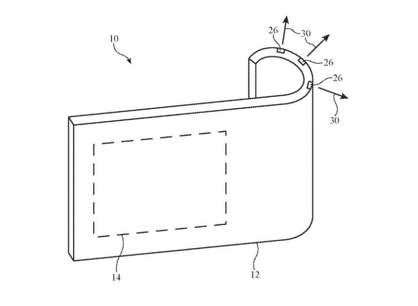 Apple katlanabilir telefon patenti