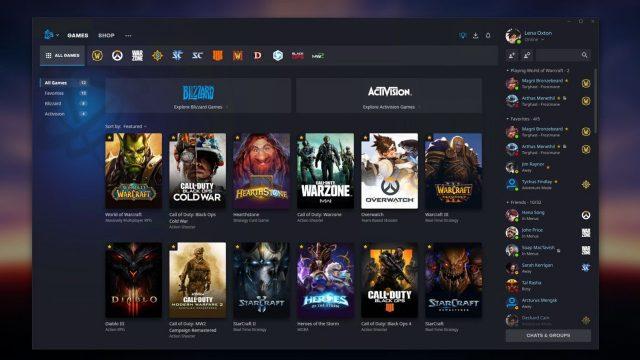 Battle.net Kullanıcı Arayüzü