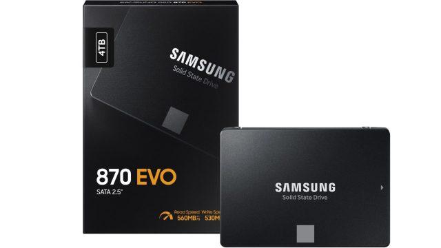 Samsung 870 EVO SATA SSD