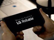 Genişleyebilen Ekranlı Akıllı Telefon LG Rollable