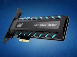 Intel Optane SSD üretimi
