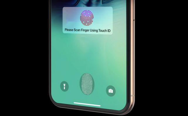 iPhone 13 ekrana entegre Touch ID