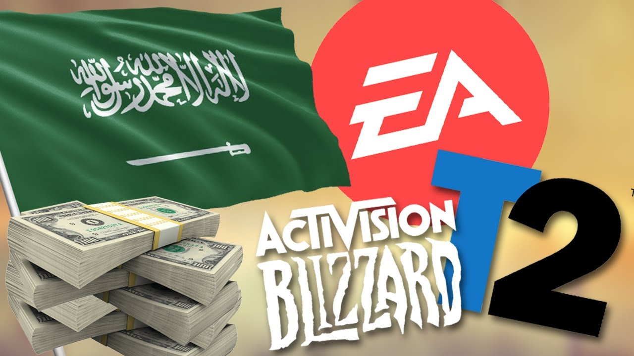 Muhammed bin Salman - ea - blizzard- take-two