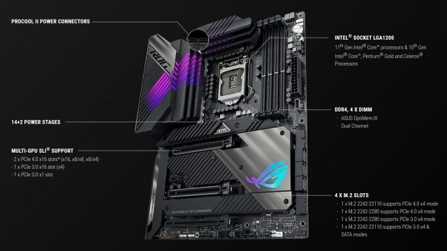 ASUS Z590 Anakart