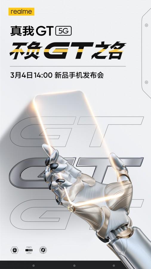 Realme GT 5G Snapdragon 888