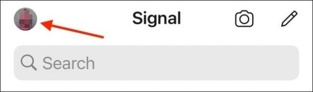 signal hesabı silme