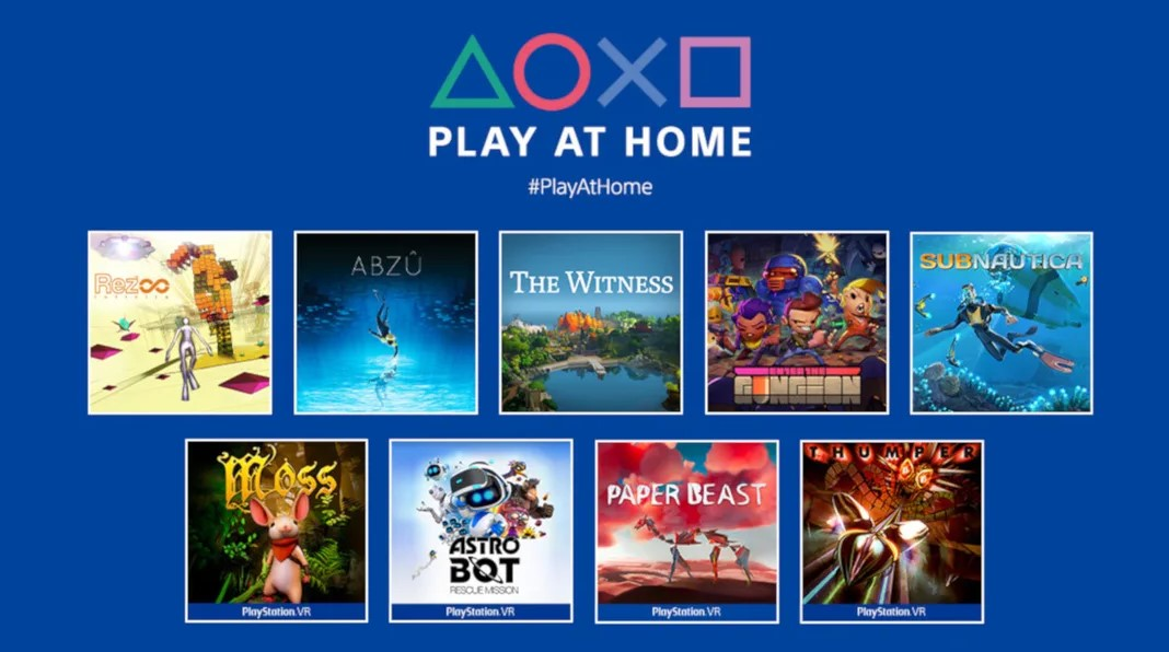 10 different PlayStation 4 games for free
