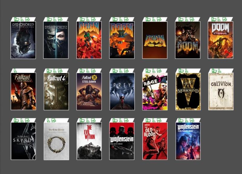 20 Farklı Bethesda Oyunu Xbox Game Pass'e Geliyor