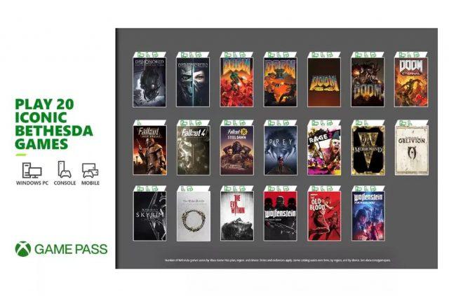 Bethesda oyunu Xbox Game Pass