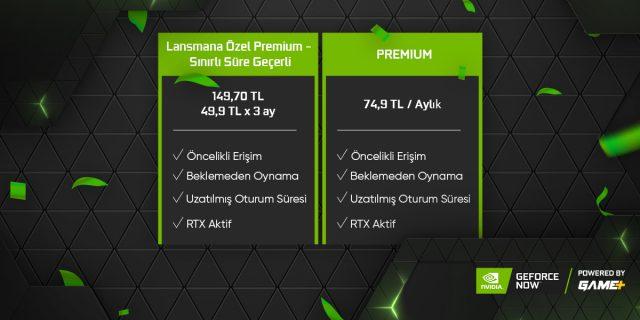 GeForce Now Türkiye Fiyat