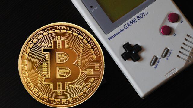 Nintendo Game Boy ile Bitcoin