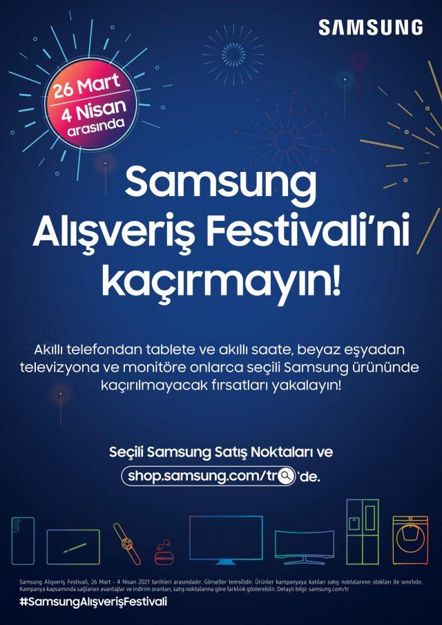 Samsung Alışveriş Festivali