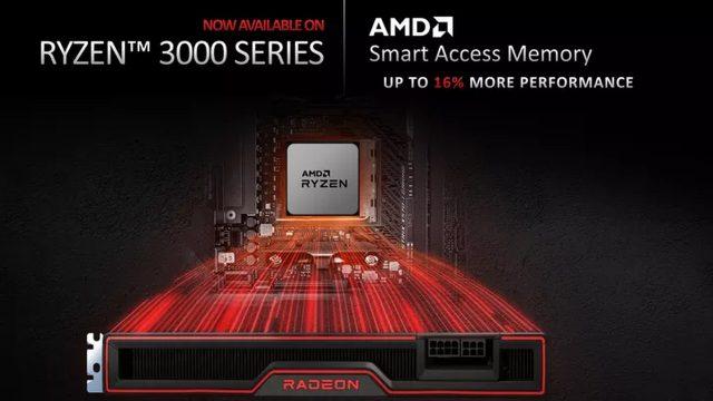 Ryzen 3000 Smart Access Memory