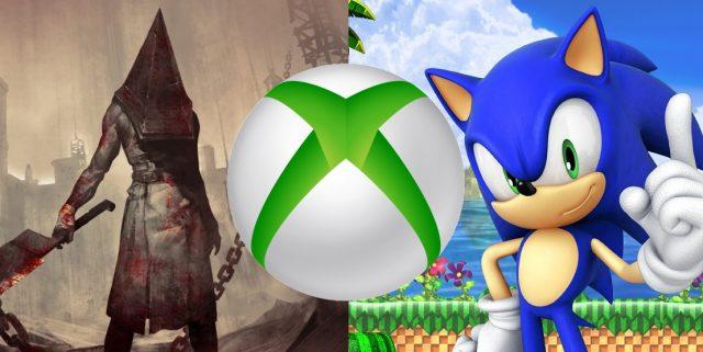 Microsoft Konami and Sega
