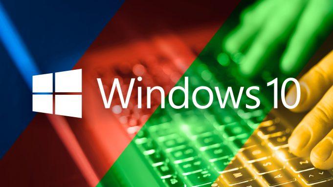Microsoft Windows 10 3D Nesneler