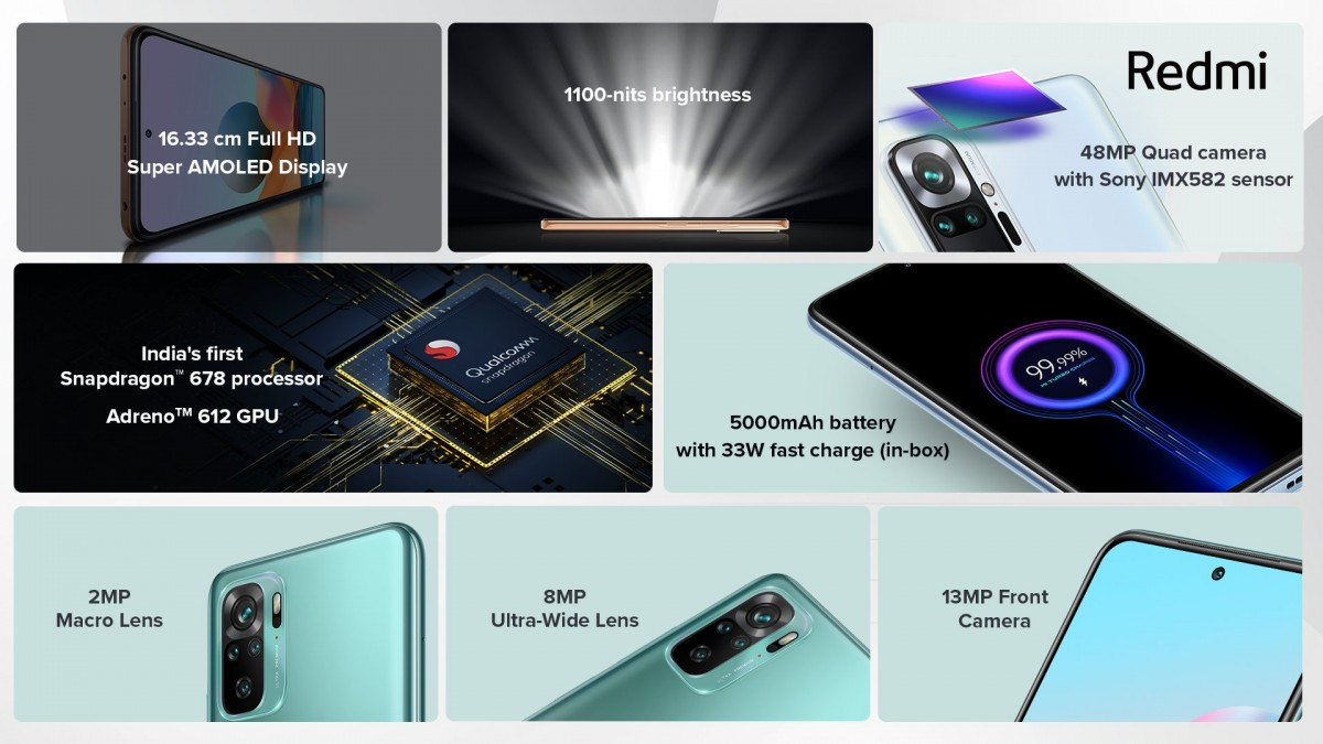 Redmi Note 10 fiyatı ve özellikleri