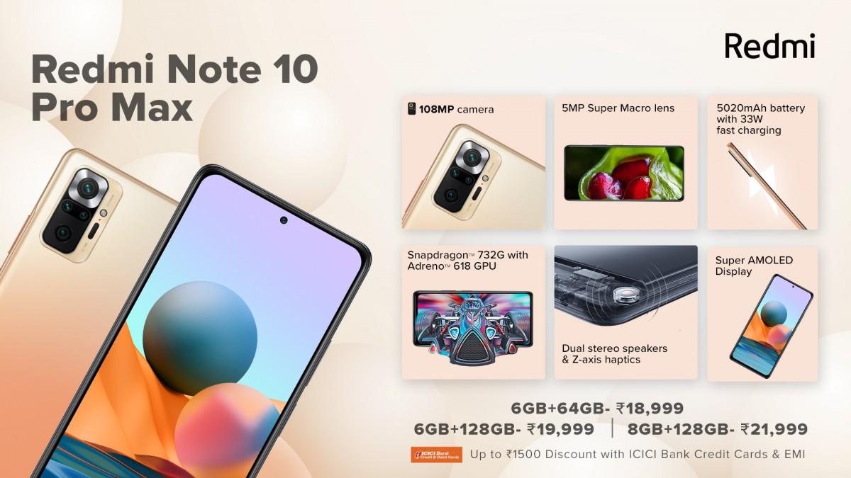 Redmi Note 10 Pro Max fiyatı ve özellikleri