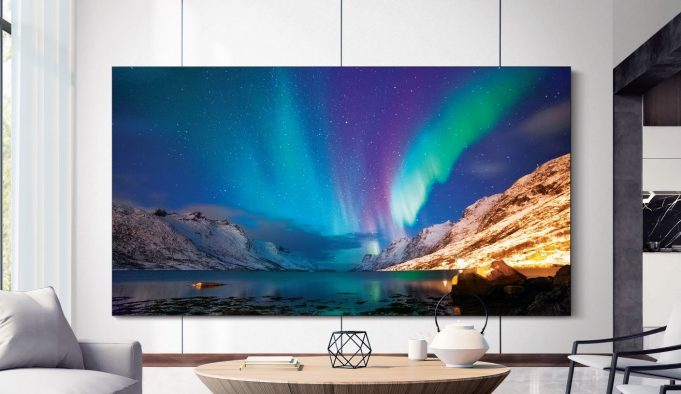 Samsung yeni TV serilerini duyurdu