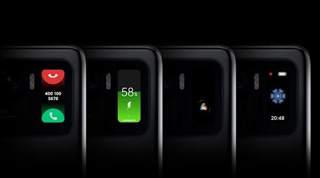 Xiaomi Mi 11 Ultra ikinci ekran