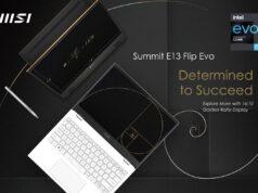 MSI Summit E13 Flip Evo ve Summit E16 Flip