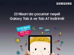 Samsung Tabletlerde 23 Nisan İndirimi