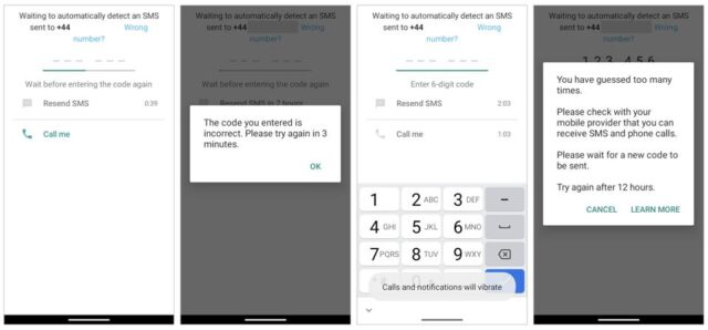 WhatsApp Hatalı Kod
