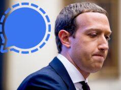 Mark Zuckerberg Signal