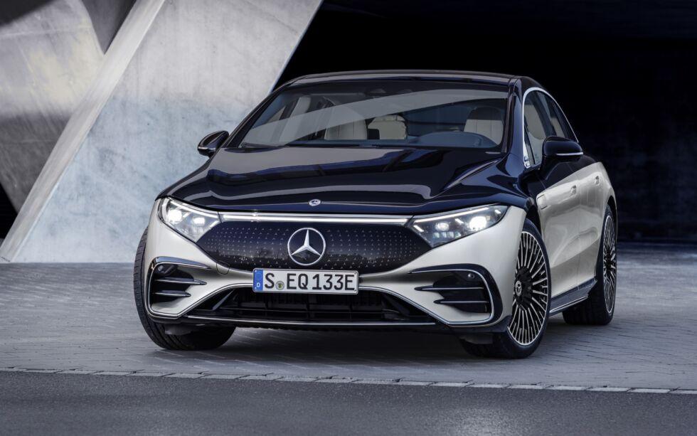 Features of Mercedes-Benz EQS