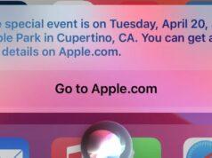 Siri Apple Etkinliği